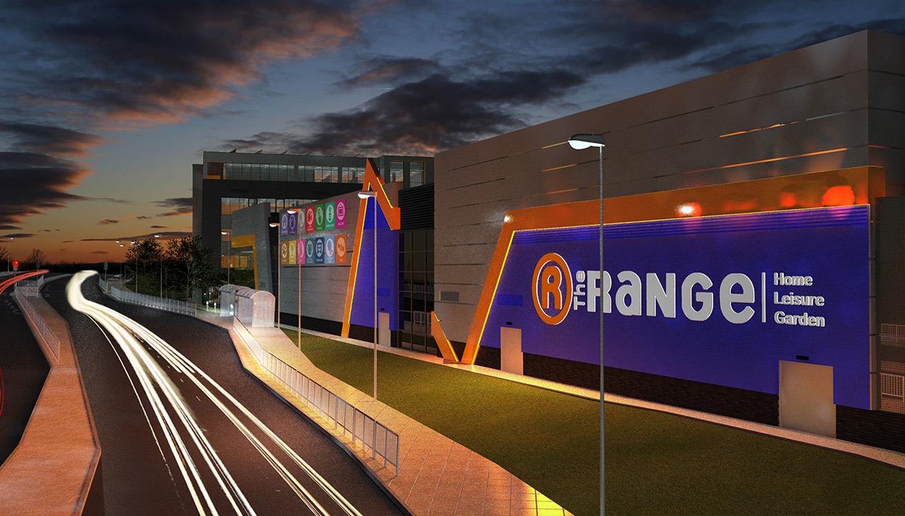 The Range Uk Headquarters And Retail Bailey Partnership